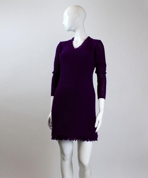 rochie violet