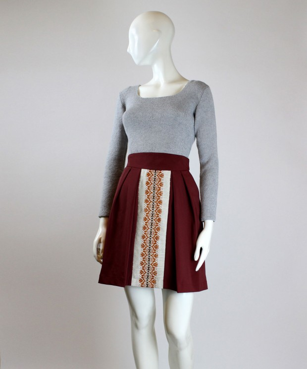 fusta caramizie cu model traditional