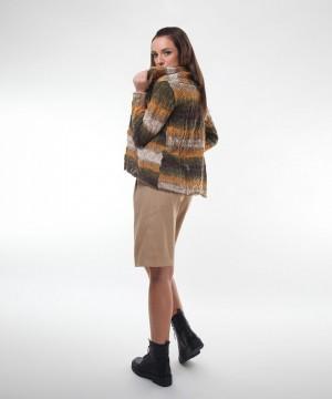 cardigan tricotat degrade