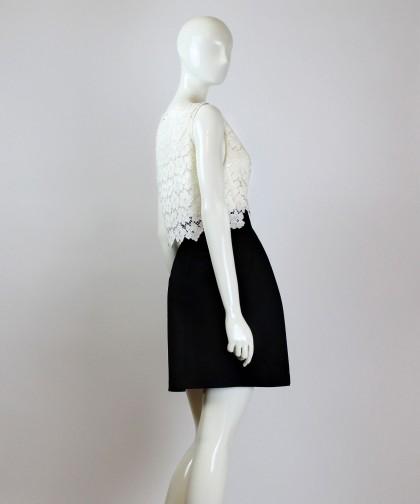 fusta cu buzunare little black skirt