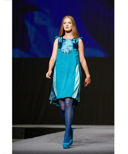 rochie de ocazie albastra