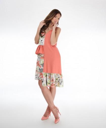 rochie coral magnolia