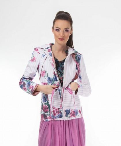 jacheta cu imprimeu