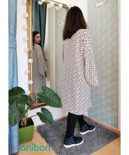 kimono cu model geometric