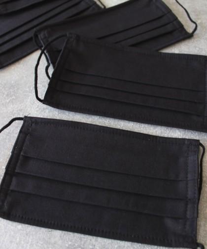 set 4 masti textile negre