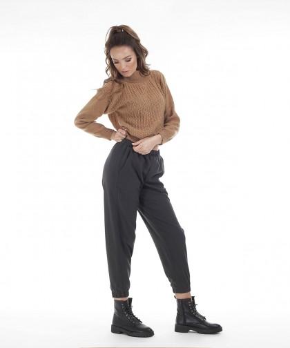 pantaloni jogger din stofa