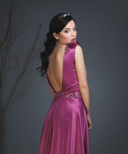 rochie de seara wild orchid violet