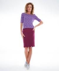 bluza tricotata asimetrica