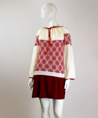 bluza tricotata rosie