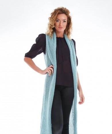 cardigan tricotat dantelat