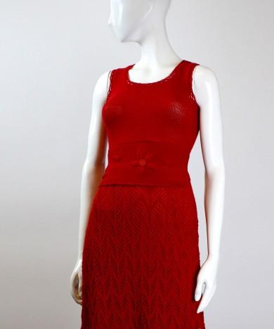 rochie tricotata rosie