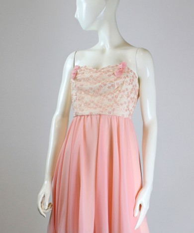 rochie delicate salmon pink