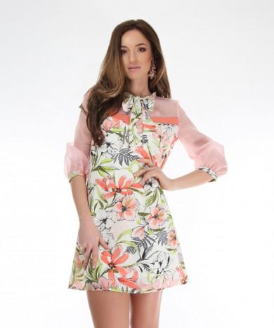 rochie cu guler funda
