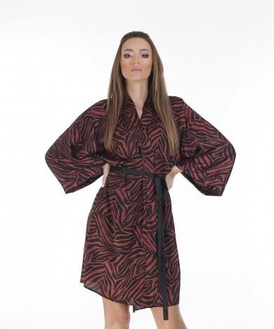 kimono animal print