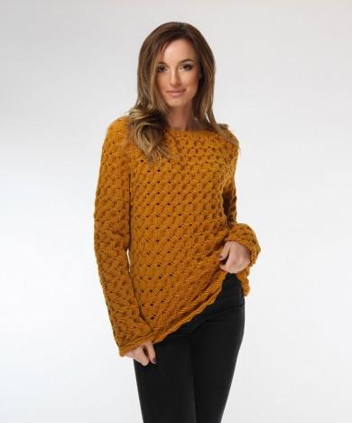 pulover galben mustar