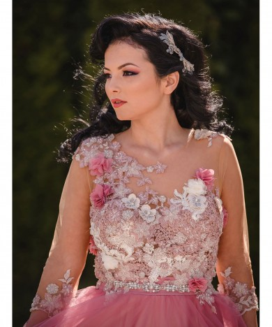 rochie raspberry fairy